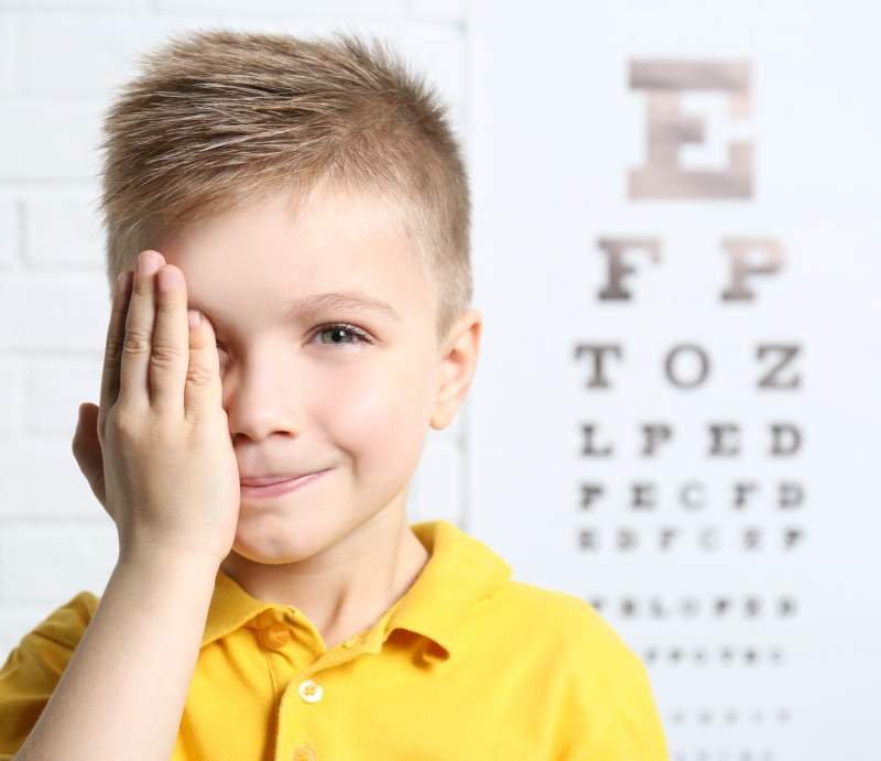 Pediatric Eye Exam Eureka California